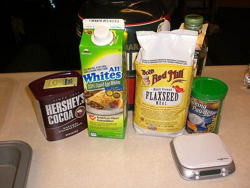 Protein Muffin Bread Ingredients