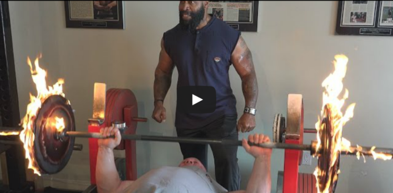 Ct Fletcher And Scot Mendelson The Burning Bench Press